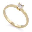 Золотое кольцо с бриллиантами SLY-0217-190 весом 1.91 г  стоимостью 48300 р.